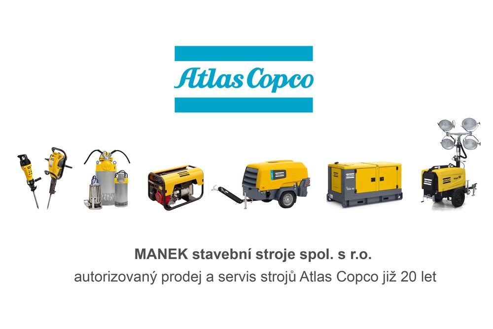 Prodej a servis Atlas Copco
