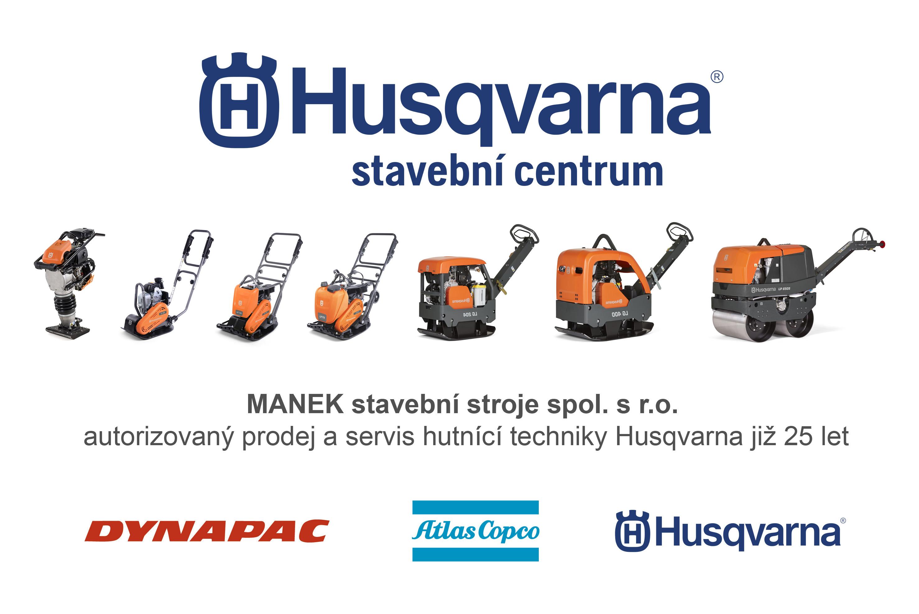 Vibrační technika Husqvarna / Atlas Copco / Dynapac