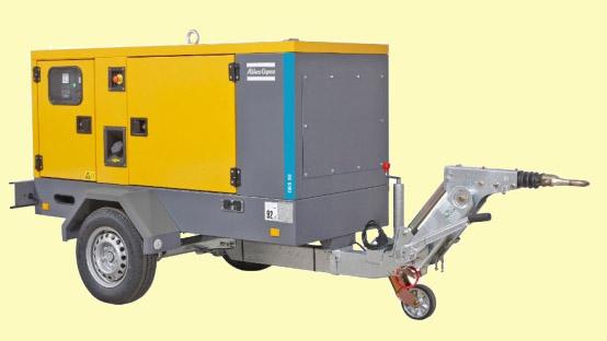 mobilní generátor pronájem QES 40