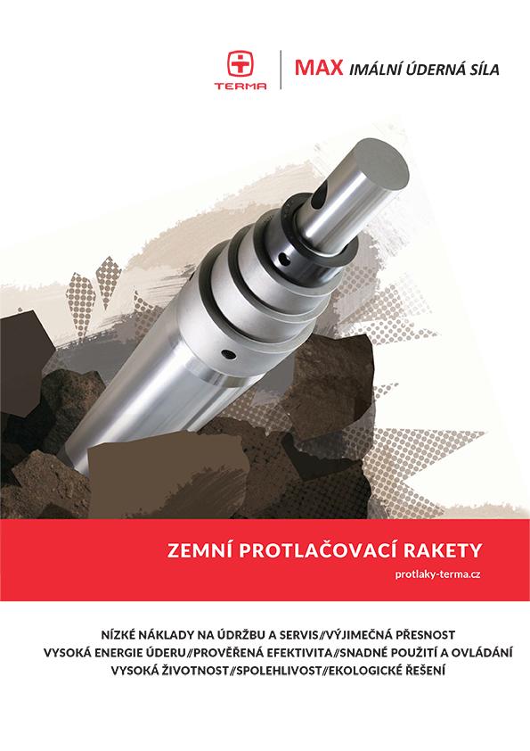 Katalog protlačovacích raket TERMA 2015