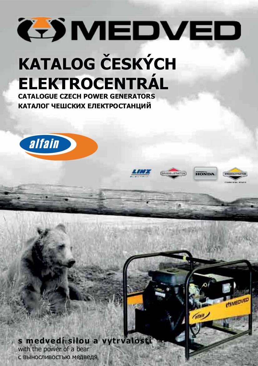 Katalog elektrocentral MEDVED CZ