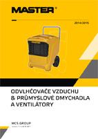 Katalog odvlhčovačů vzduchu MASTER