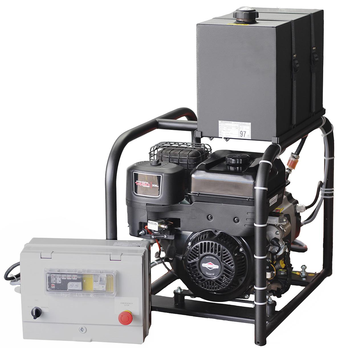 Automatický záložní zdroj pro ostrovní systém MEDVED PDM1